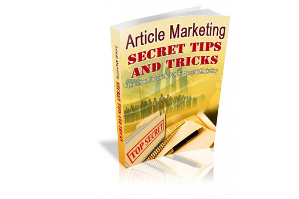 Article Marketing  Secret Tips & Tricks